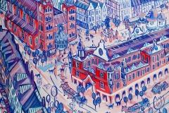 Paweł Kluza - Kraków - obraz olejny na płótnie